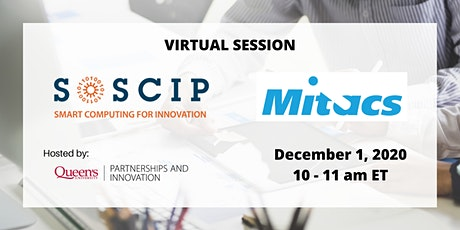 Information Session: SOSCIP and Mitacs - Opportunities for Researchers tickets