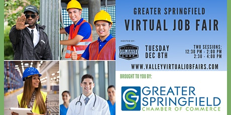 Greater Springfield Virtual Job Fair (JOB SEEKERS) tickets
