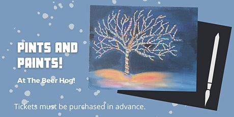 Paints and Pints at The Beer Hog tickets