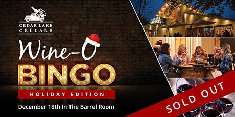 Wine-O Bingo: Holiday Edition tickets