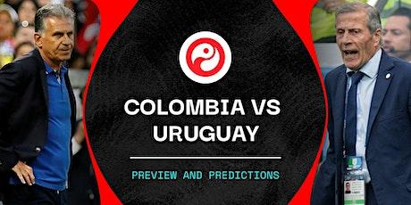 ViVO!!.-@Colombia V Uruguay en viv y E.n Directo ver Partido online entradas