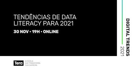 Digital Trends 2021 - Data Literacy ingressos