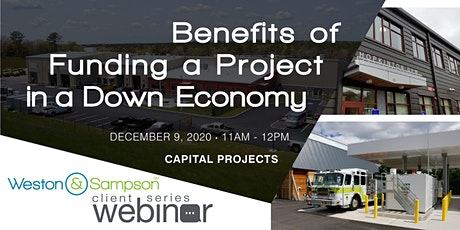 Benefits of Funding a Project in a Down Economy tickets