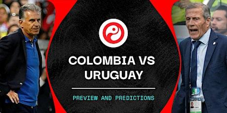 ViVO-TV!!.-@-Colombia V Uruguay en viv y E.n Directo ver Partido online entradas