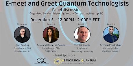 E-meet and Greet Quantum Technologists tickets