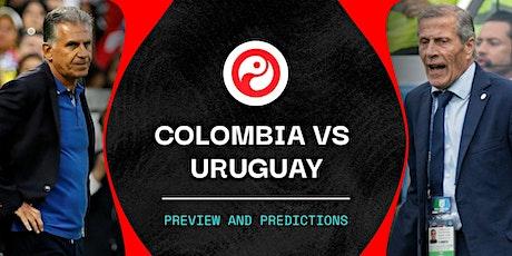 ONLINE@!.Colombia V Uruguay en viv y E.n Directo ver Partido online entradas