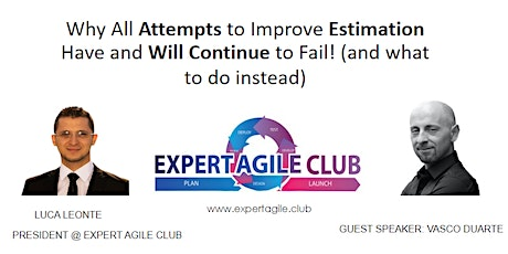 Why All Attempts to Improve Estimation Have and Will Continue to Fail! tickets