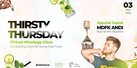 Thirsty Thursday: Virtual Mixology Class tickets