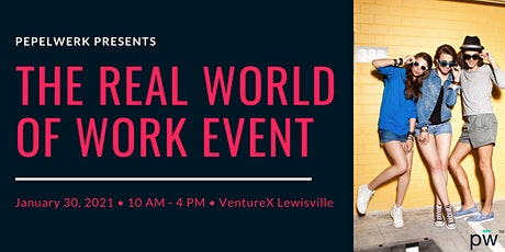 The Real World of Work Event by Pepelwerk tickets