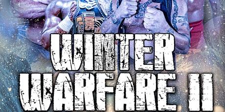 WINTER WARFARE II presented by Lions Pride Sports tickets