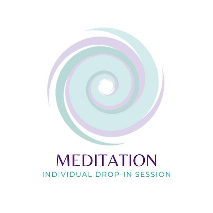 Meditation: Online drop-in session image