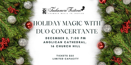 Holiday Magic with Duo Concertante tickets
