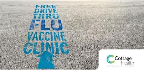 Cottage Health Drive-Thru Flu Vaccine Clinic tickets