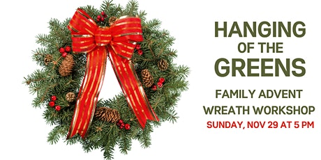 Family Advent Wreath Workshop tickets