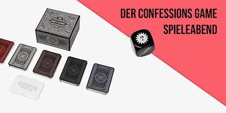 Der Confessions-Game-Spieleabend Tickets