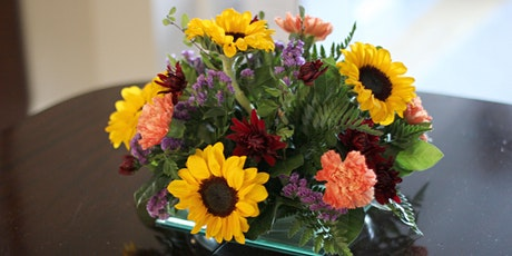 Thanksgiving Flower Arranging tickets