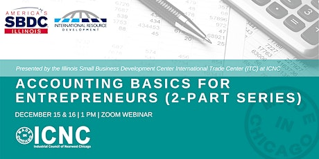 Accounting Basics for Entrepreneurs (2-Part series) tickets