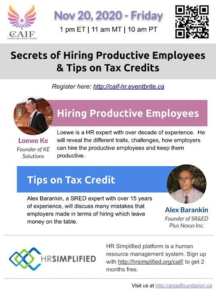 Secrets on Hiring Productive Employees & Tips on Tax Credits image