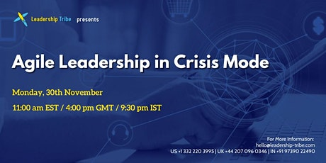 Agile Leadership in Crisis Mode - Luxembourg tickets