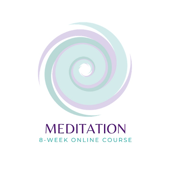 Meditation: 8-week Online Course for Health & Wellbeing image
