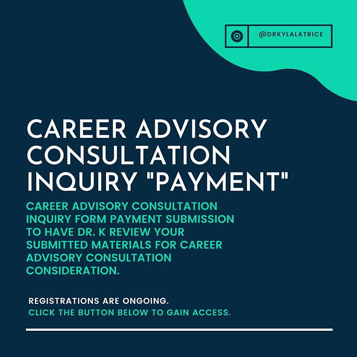 Career Advisory Consultation Inquiry Form & Payment image