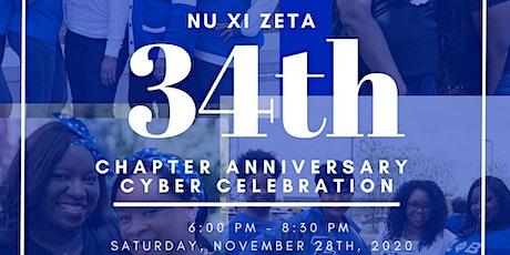 Nu Xi Zeta 34th Chapter Anniversary Cyber Celebration: An Ode to Sisterhood tickets