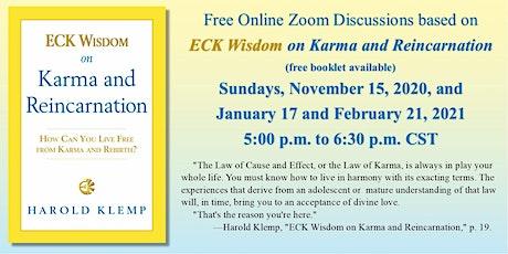 ECK Wisdom on Karma and Reincarnation tickets