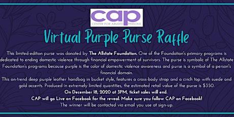 CAP's Purple Purse Fundraiser tickets