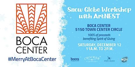 Snow Globe Workshop with ArtNEST tickets
