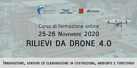 Rilievi da drone 4.0 - Costruzioni Ambiente e Territorio (EVENTO ONLINE) biglietti