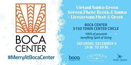 Virtual Santa Green Screen Photo Booth &  Santa Livestream Meet & Greet tickets