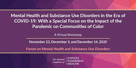 Mental Health and Substance Use Disorders in the Era of COVID-19: Part 2 tickets