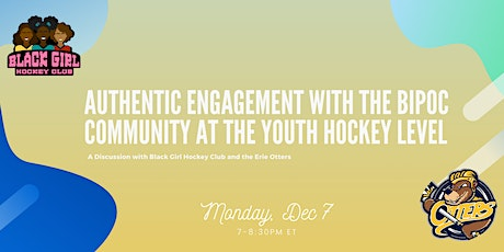 Authentic Engagement with the BIPOC Community at the Youth Hockey Level tickets