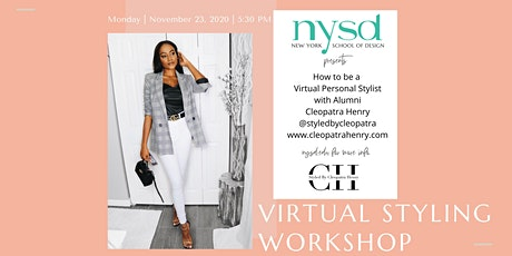 How to be a  Virtual Personal Stylist with  Cleopatra Henry tickets