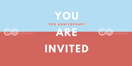 Campus Outreach UIC Anniversary tickets