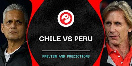 TV/VER.-Chile V peru en viv y E.n Directo ver Partido online entradas
