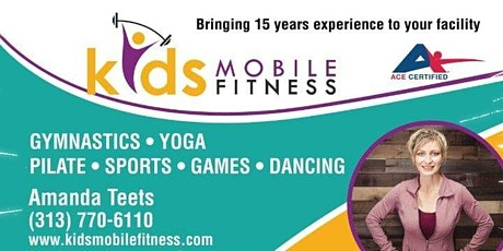 FIT MIX Class Ages 3-5 yrs old (Afternoon) tickets