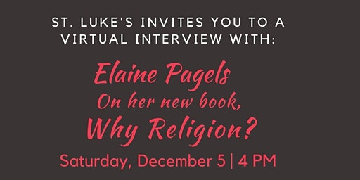 Interview With Author Elaine Pagels
