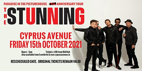 THE STUNNING - Paradise In The Picturehouse 31st Anniversary Concert tickets