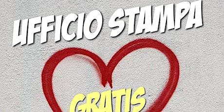 Promozione libro Ufficio Stampa Gratis by Antonio Cospito biglietti