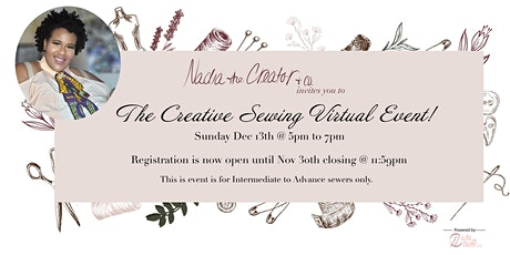 A Creative Sewing Virtual Class entradas