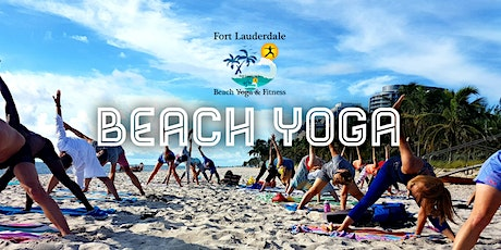 Copy of Fort Lauderdale Beach Yoga tickets