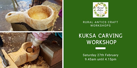 Kuksa Carving Workshop tickets