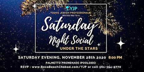 Saturday Night Social Under The Stars tickets