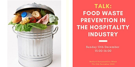 TALK: Food waste prevention in the hospitality industry tickets
