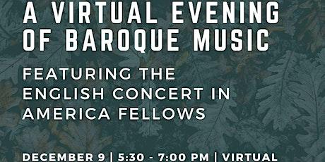 An Evening of Baroque Music tickets