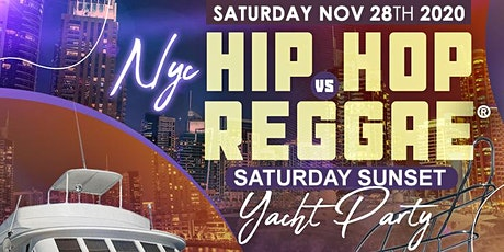 YACHT PARTY NYC - HipHop & Reggae® Boat Party! Sat., Nov. 28th tickets
