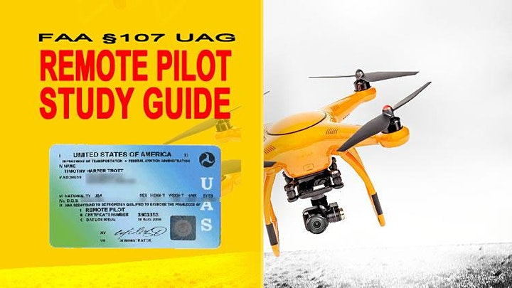 Preparing to Pass the FAA UAG Part §107 Drone License Exam image