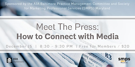 Meet The Press: How to Connect with Media tickets