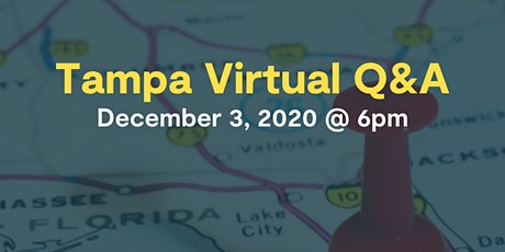 Learn To Code In Tampa: Virtual Q&A tickets